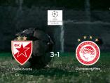 El Estrella Roja de Belgrado consigue la victoria en casa frente al Olympiakos Piraeus (3-1)
