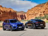 Hasta 600 caballos de potencia: así son los nuevos BMW X5 M y X6 M.