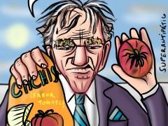 Progreso alimenticio, viñeta de Superantipático