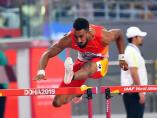 Orlando Ortega, en el Mundial de atletismo