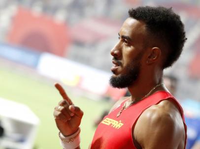 Orlando Ortega, durante el Mundial de Doha 2019