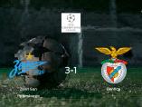 El Zenit San Petersburgo gana 3-1 al Benfica y se lleva los tres puntos