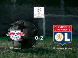 El Olympique de Lyon suma tres puntos a su casillero ante el RB Leipzig (0-2)