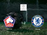 El Chelsea derrota 1-2 al Lille y se lleva los tres puntos