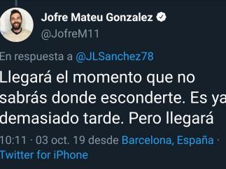 Amenaza Jofre Mateu