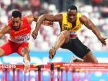 McLeod provoca la caída de Orlando Ortega en la final de 110 metros vallas del Mundial