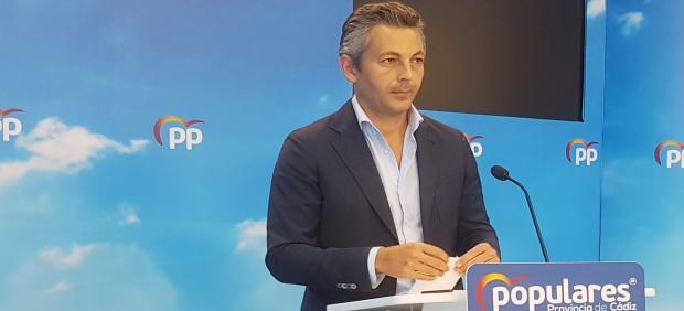 Andrés Núñez, secretario general del PP en Cádiz