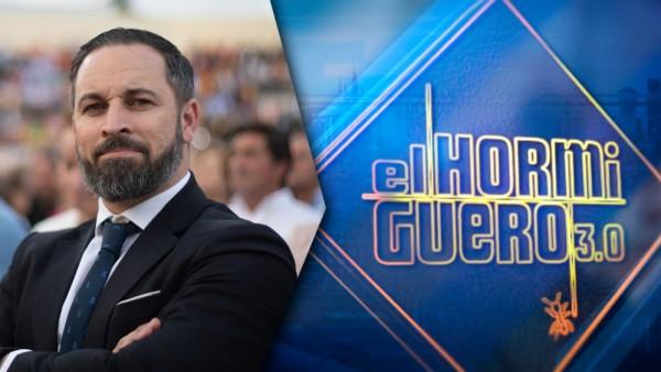 Santiago Abascal visitará 'El hormiguero' el 10 de octubre