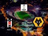 Triunfo del Wolverhampton Wanderers ante el Besiktas (0-1)