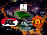 El AZ Alkmary el Manchester Unitedse reparten los puntos en el AFAS (0-0)
