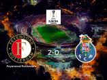 Los tres puntos se quedan en casa tras el triunfo del Feyenoord Rotterdam frente al Porto (2-0)