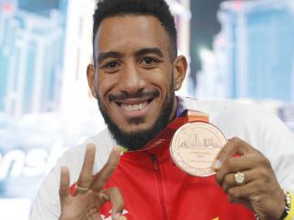 Orlando Ortega, bronce mundial en Doha 2019