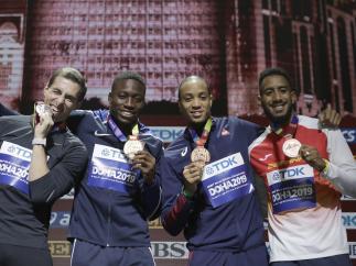 Orlando Ortega, bronce en el Mundial de Doha 2019