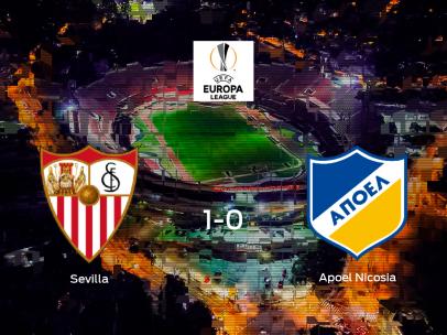 Los tres puntos se quedan en casa: Sevilla 1-0 Apoel Nicosia