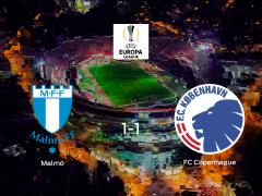 El Malmö y el Copenhague solo suman un punto (1-1)