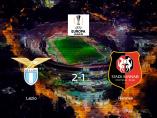 La Lazio Roma suma tres puntos a su casillero tras ganar al Stade Rennes (2-1)