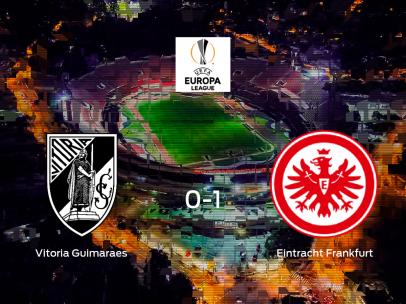 El Eintracht Frankfurt vence 0-1 en el feudo del Vitoria Guimaraes