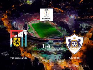 El Qarabag FK se pasea ante el F91 Dudelange sin apenas obstáculos (1-4)