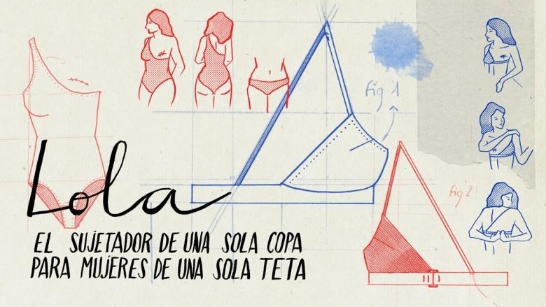 Lola: el sujetador de una sola copa para mujeres de una sola teta