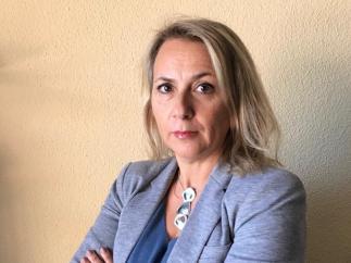 Lorena Abellán, vicepresidenta de la Asociación Mujeres Unidas contra el Maltrato.