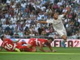 Eden Hazard marca su primer gol con el Real Madrid