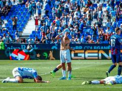 El Leganés tras perder contra el Levante