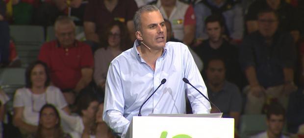 """Ortega Smith denuncia la """"amenaza"""" del secesionismo"""