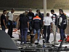 Desembarco de cadáveres en Lampedusa