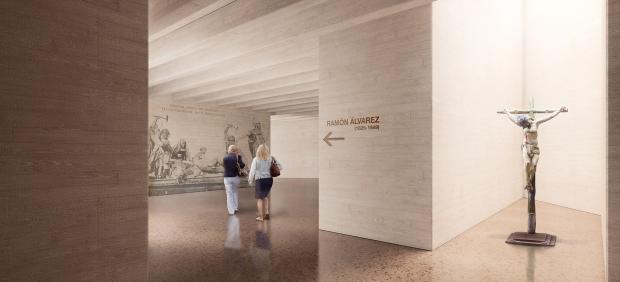 Imagen Virtual De Cómo Será El Interior Del Nuevo Museo De Semana Santa En Zamora.