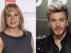 Toñi Prieto, directora de entretenimiento de TVE, y Blas Cantó, representante de España en Eurovisión 2020