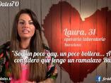 Laura, en 'First dates'.