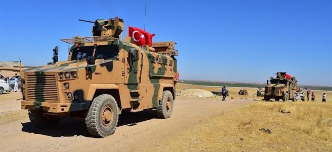Tropas de Turquía y EE UU en Siria
