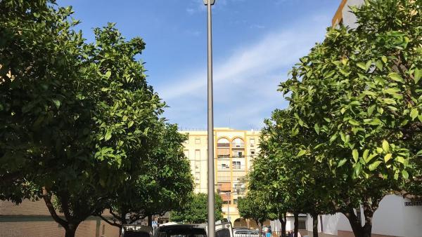 Alcalá de Guadaíra retira de su alumbrado público las lámparas de mercurio y las sustituye con tecnología led