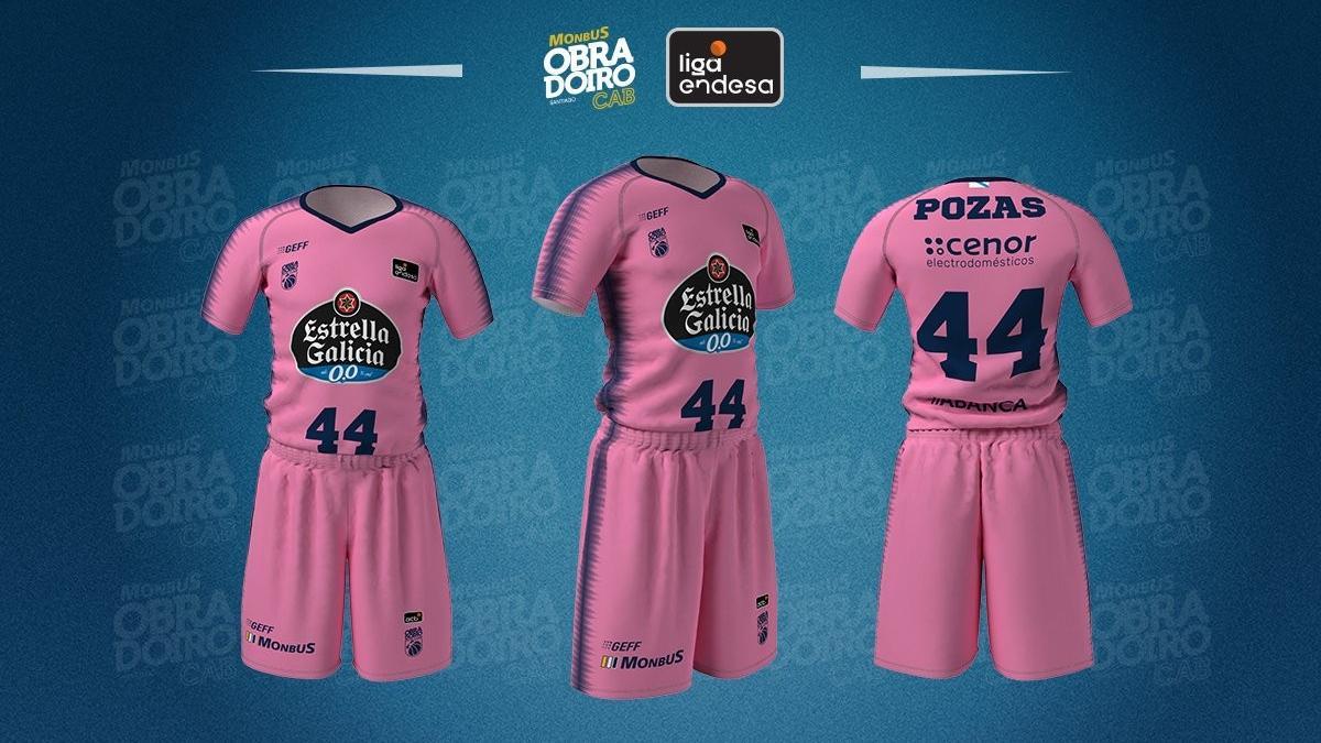 El Obradoiro se teñirá de rosa contra el Real Madrid por el Día Mundial contra el cáncer de mama
