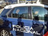 Llegada all Juzgado de Primera Instancia e Instrucción número 4 de la localidad malagueña de Vélez-Málaga, del  del novio de Dana Leonte