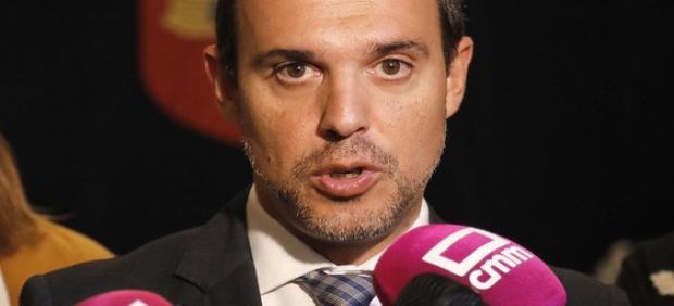 El presiente de las Cortes, Pablo Bellido