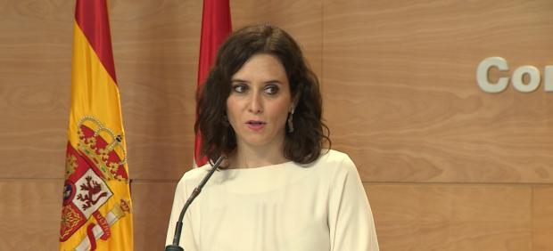 Las rebajas fiscales de Ayuso valdrán para 30.000 madrileños