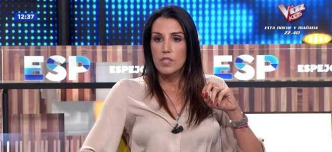 Nuria Bermúdez en su reaparición en 'Espejo público'