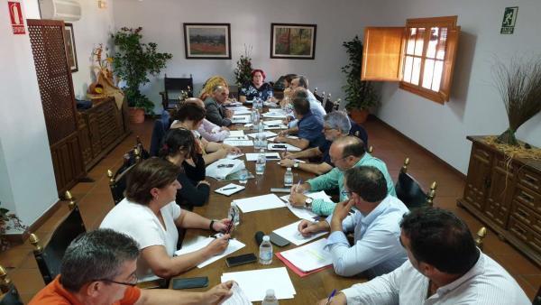 Reunión del Consejo Agrario de Extremadura