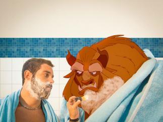 Luigi Kemo Volo, el ilustrador que 'vive' con los personajes de Disney