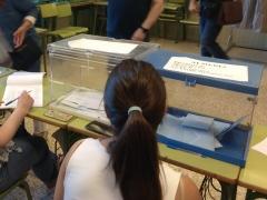 Mesa electoral en las elecciones generales
