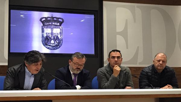 Felipe Díaz de Miranda, Alfredo García Quintana, David González Codón y Miguel Ángel de Dios.