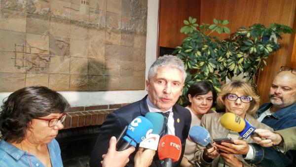 El ministro de Interior, Grande-Marlaska, asiste a la reunión de centros penitenciarios y de inserción social en La Lastrilla.