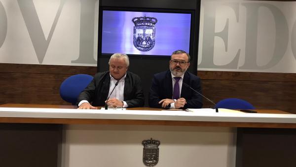 Ángel de la Fuente y Alfredo García Quintana.