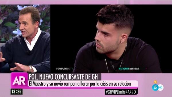 Alessandro Lequio, en el programa de Ana Rosa