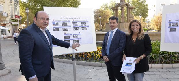 Presentación de un proyecto para realzar el valor de las fuentes de Granada