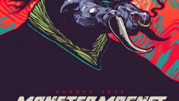 Cartel de la gira especial de Monster Magnet, que actuará en Santiago en febrero de 2020