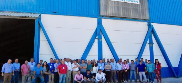 Foto de familia de Herogra Group en el Puerto de Motril