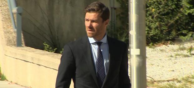 Xabi Alonso en la Audiencia Provincial