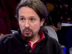 """Pablo Iglesias durante la entrevista en """"Todo es mentira"""""""